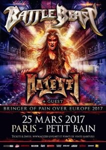 Battle Beast + Majesty + GYZE