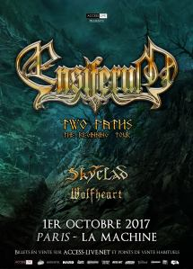 Ensiferum + Skyclad + Wolfheart