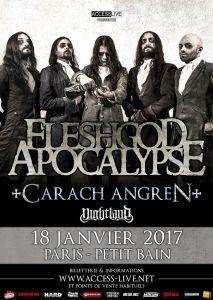 Fleshgod Apocalypse + Carach Angren + Nightland