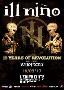 Ill Nino + Ektomorf + Xtortya
