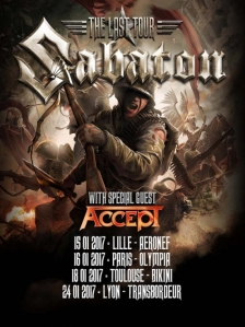 Sabaton + Accept + Twilight Force