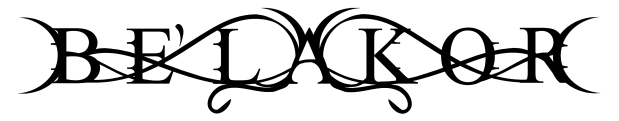 Be'lakor - Logo