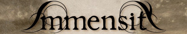 Immensity - logo