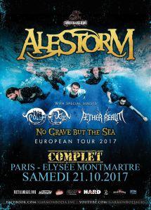 Alestorm + Troldhaugen + Aether Realm