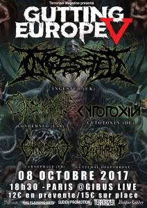 Ingested + Condemned + Cytotoxin + Carnophage + Guttural Deepthroat
