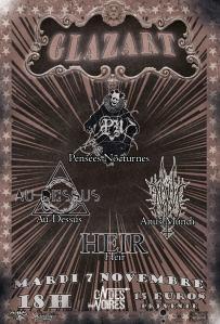 Pensées Nocturnes + Au Dessus + Anus Mundi + HEIR