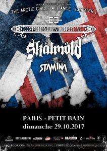 Skalmold + Omnium Gatherum + Stam1na
