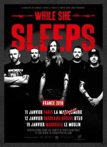 While She Sleeps + Rolo Tomassi + Landmvrks