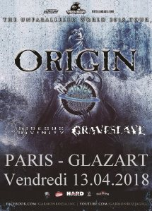 Origin + Rings Of Saturn + Hideous Divinity + Graveslave