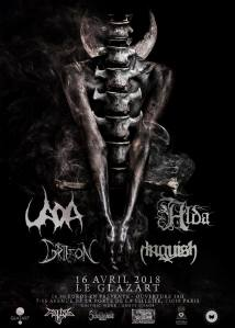 Uada + Alda + Griffon + Anguish