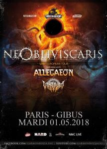 Ne Obliviscaris + Allegaeon + Virvum