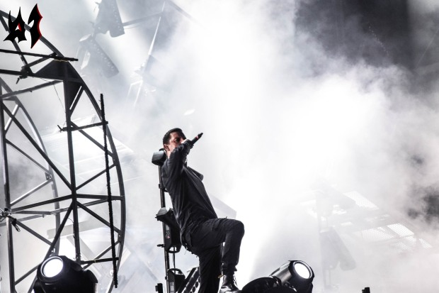 Hellfest - Jour 2 - Parkway Drive 1