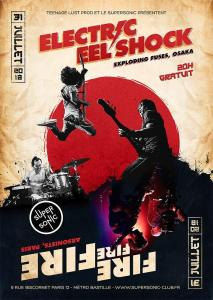 Electric Eel Shock + FireFireFire + RedCoal