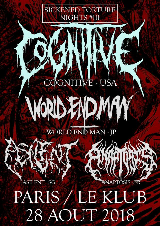 Cognitive + World End Man + Asilient + Anaptosis