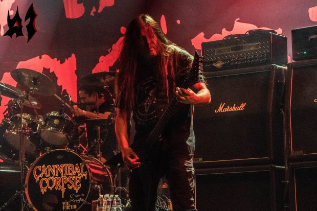Motocultor 2018 – Day 2 - Cannibal Corpse 1