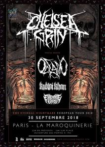 Chelsea Grin + Oceano + Kublai Khan + Enterprise Earth