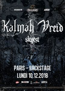 Kalmah + Vreid + Slegest