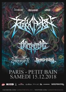 Revocation + Archspire + Soreption + Rivers Of Nihil