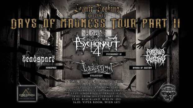 Psychonaut 4 + Deadspace + Afraid Of Destiny + Eyelessight