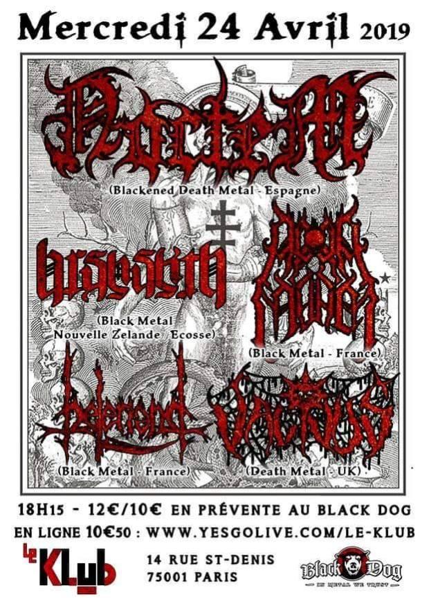 Noctem + Barshasketh + Acedia Mundi + Beleriand + Vacivus