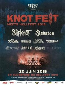 Affiche Knotfest